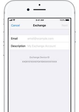 Set up Exchange ActiveSync on your iPhone, iPad, or iPod